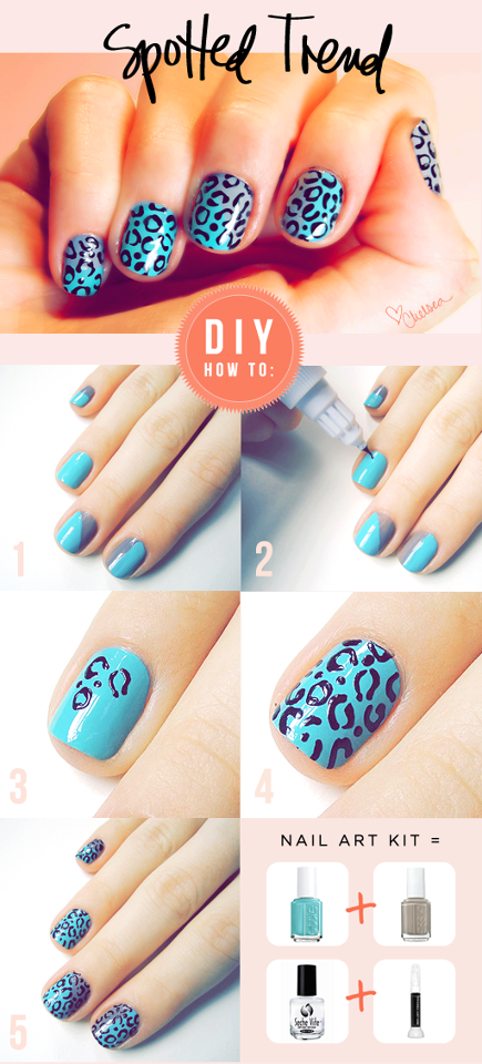 How To Do Nail Art Spots Step By Step Diy Instructions How To Instructions