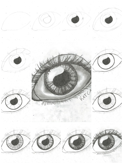 How to draw eyes on crafts