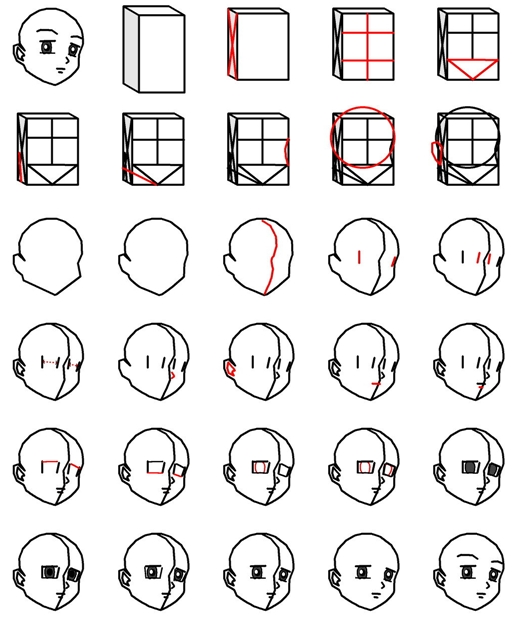 How To Draw Anime Step By Step Diy Instructions Thumb How To