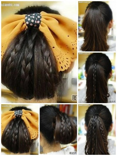 How to make Korean hair style step by step DIY