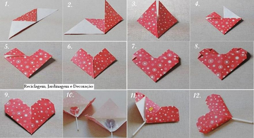 How To Make A Heart Lollipop Package For Kids Step By DIY Instructions
