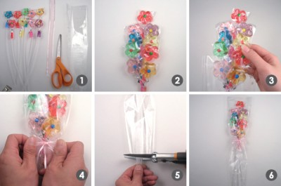 How to make a twinkle classic bouquet step by step DIY instructions