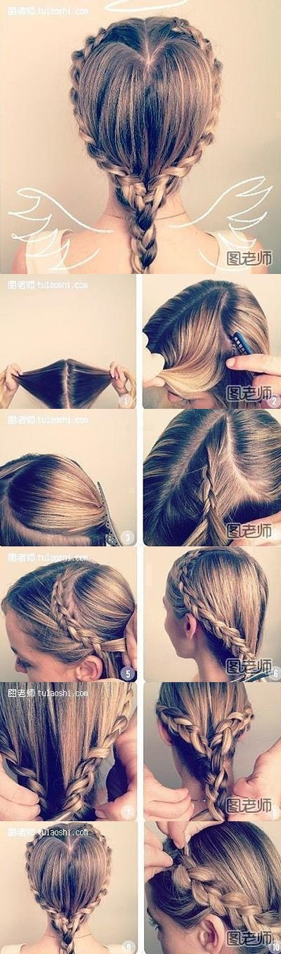 How to make lovely angel hair style step by stey DIY instructions
