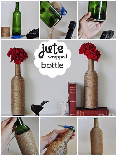 How to make special flower vase with recycled bottle step ...