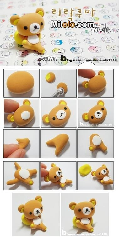 How to make super cute bear toy step by step DIY instructions
