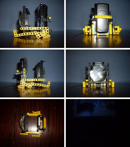 How To Make Your Own Cool Mobile Phone Projector With Lego