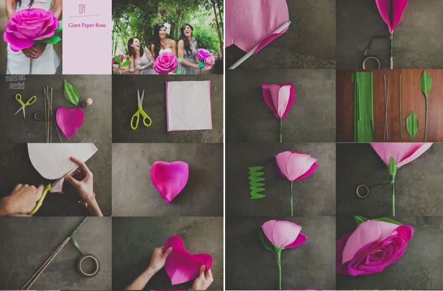 how to make your own handmade wedding flower step by step