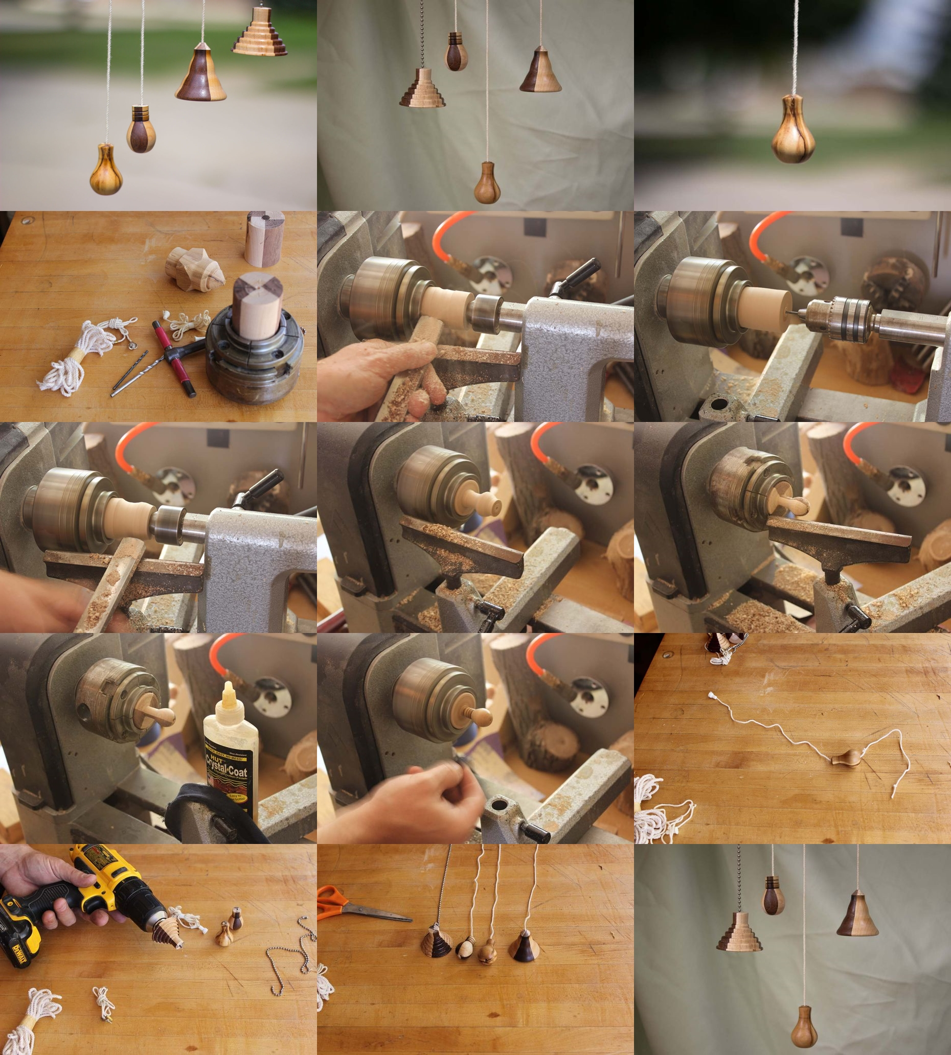 How to make your unique ceiling fan string pulls step by step diy how to make your unique ceiling fan string pulls step by step diy instructions mozeypictures Gallery