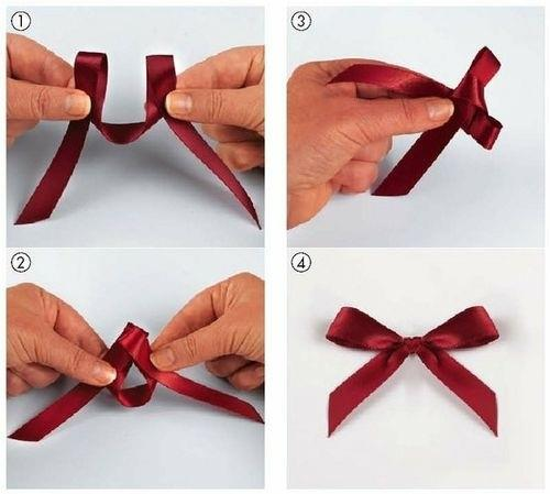 how to tie a bow knot easy step by step diy