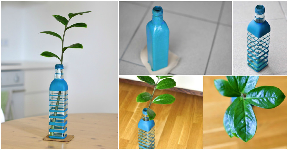 How To Make Beautiful Diy Bottle Vase How To Instructions