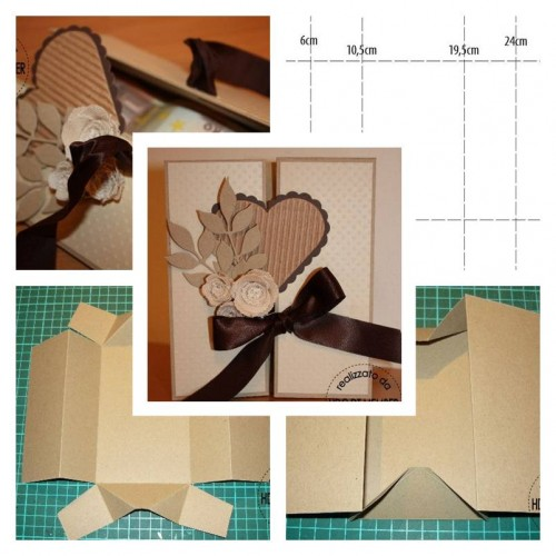 How To Make Beautiful Envelope step by step DIY tutorial instructions thumb