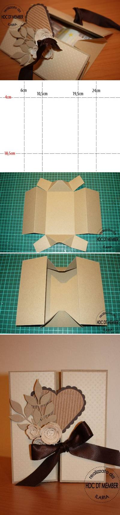 How To Make Beautiful Envelope step by step DIY tutorial instructions