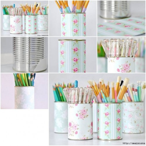 How To Make Delicate Pencil Holder Step By Step Diy