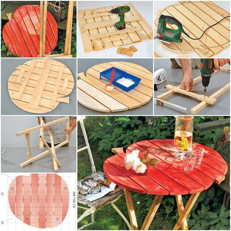 How To Make Garden Folding Table Step By Step DIY Tutorial Instructions Thumb U2013 How To Instructions