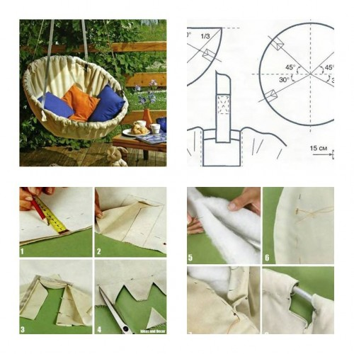 How To Make Hammock Chair Step By Step DIY Tutorial Instructions