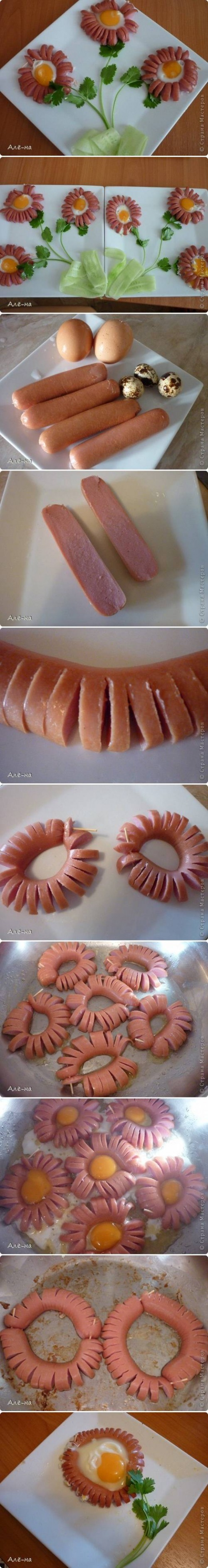 How to Make Hot Dog Daisy step by step DIY tutorial instructions