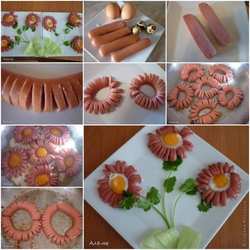 How to Make Hot Dog Daisy step by step DIY tutorial instructions thumb