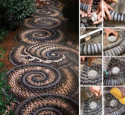 How to build beautiful stone garden path step by step diy tutorial how to build beautiful stone garden path step by step diy tutorial instructions workwithnaturefo