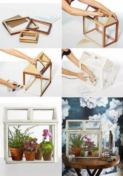 How to build flower house step by step DIY tutorial instructions