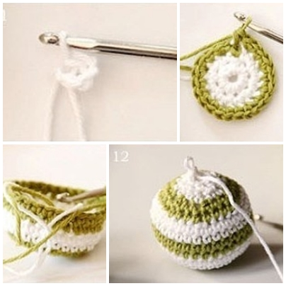 Crocheting Step By Step : How to crochet a colourful ball step by step DIY tutorial instructions ...