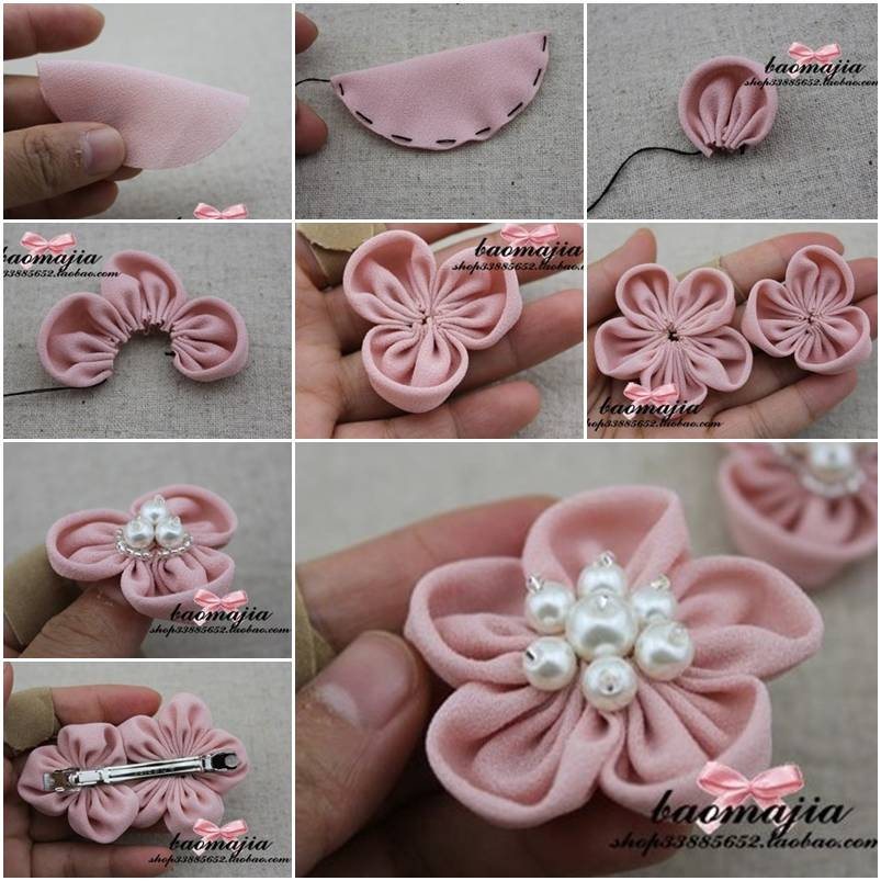 How-to-make-Nice-Fabric-Flower-Hair-Clip