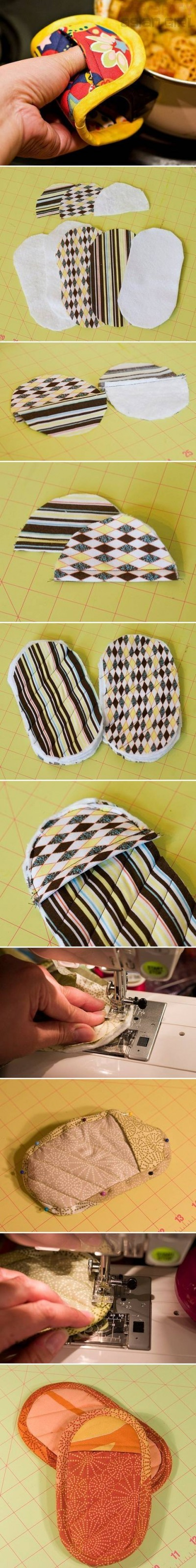 How to make Nice Pot Holder step by step DIY instructions