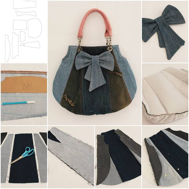 How to make Old Jeans ...
