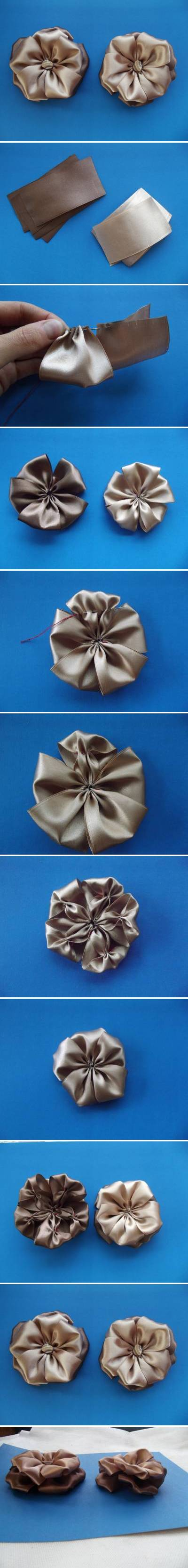 How to make Original Bow step by step DIY tutorial instructions
