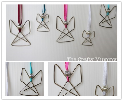 How To Make Paper Clip Angel Step By Step Diy Tutorial Instructions