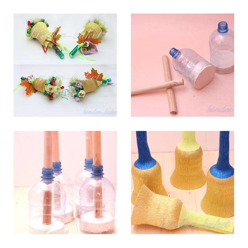 How To Make Plastic Bottle Bouquet Holder Step By DIY Tutorial Instructions Thumb