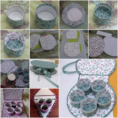 How to make Small Items Organizer step by step DIY tutorial instructions thumb