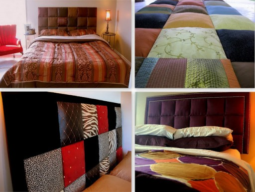 How to make Soft Bed Headboard step by step DIY tutorial instructions