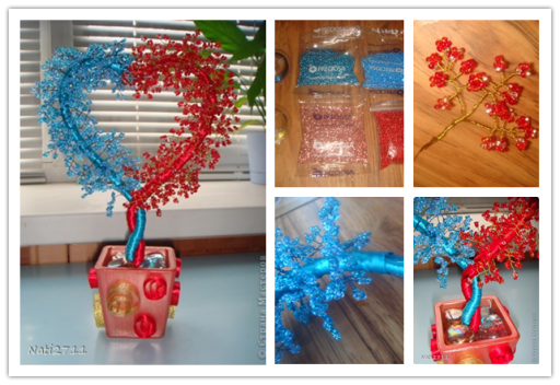 How to make Tree of Love step by step DIY tutorial picture instructions