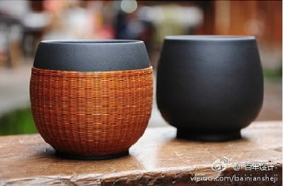 How to make bamboo tea cup cover step by step DIY tutorial picture instructions thumb