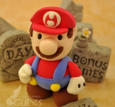 How to make clay mario step by step DIY tutorial picture instructions thumb