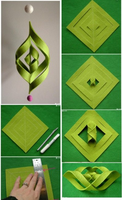 How to make cool modern decoration step by step diy for How to make easy crafts step by step