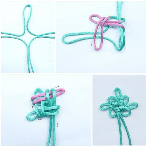 How to make lovely Chinese knot step by step DIY tutorial instructions thumb