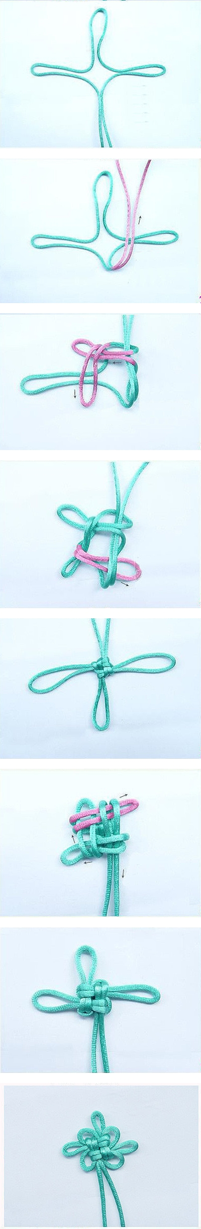 How to make lovely Chinese knot step by step DIY tutorial instructions