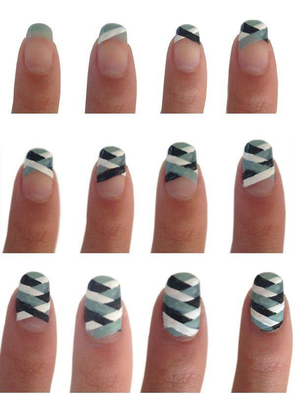 Nail Art Designs Step By Step On Dailymotion: Nail art designs step ...
