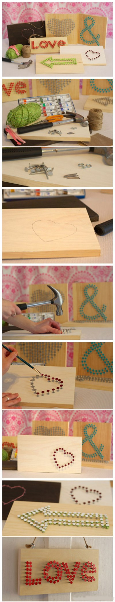 How to make lovely sign boards step by step DIY tutorial instructions
