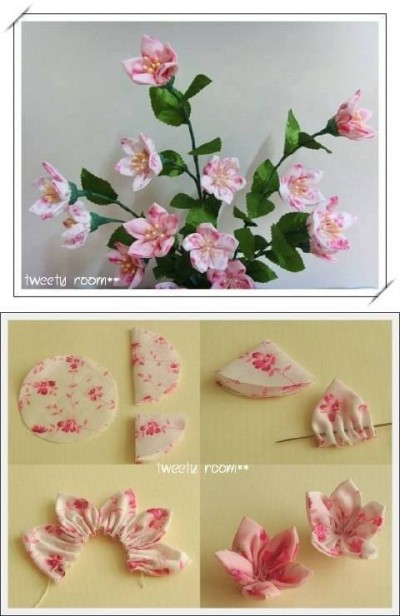 How to make pretty decor flowers step by step diy tutorial for Handmade flowers for decoration step by step