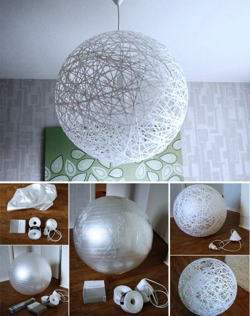 How To Make A Lamp Part - 15: How To Make Your Cool Lamp Shade Step By Step DIY Tutorial Instructions. U003eu003e
