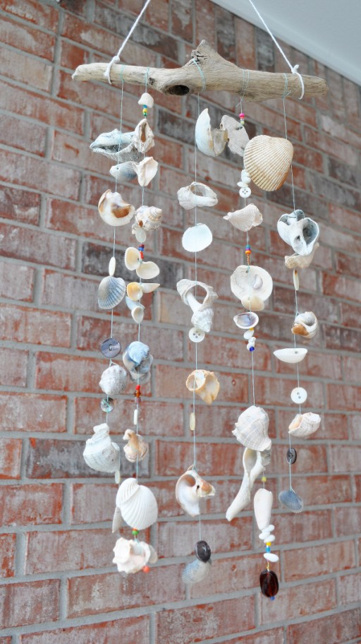 How to make your own Campanula wind chimes step by step DIY tutorial instructions