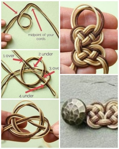 How to make your own beautiful bracelet step by step DIY tutorial picture instructions thumb