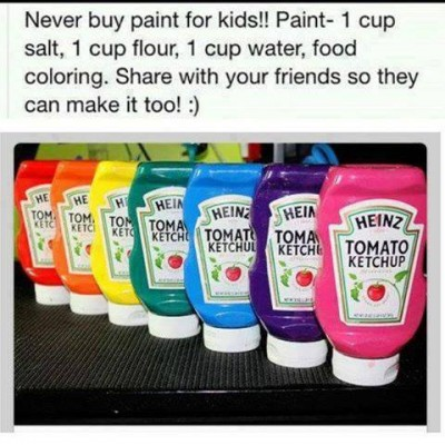 How to make your own paint for kids for hours of fun step for How to buy art for your home