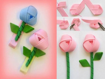 How to make your own pretty flowers step by step DIY tutorial instructions