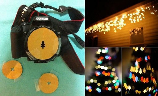 How to take lovely patterned light pictures step by step DIY tutorial instructions
