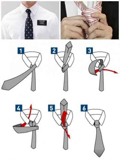 How to tie a half windsor knot tie step by step DIY instructions
