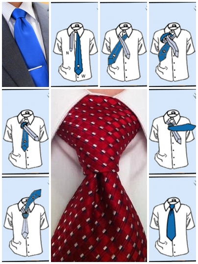 How to tie a tie pratt knot step by step DIY instructions ...