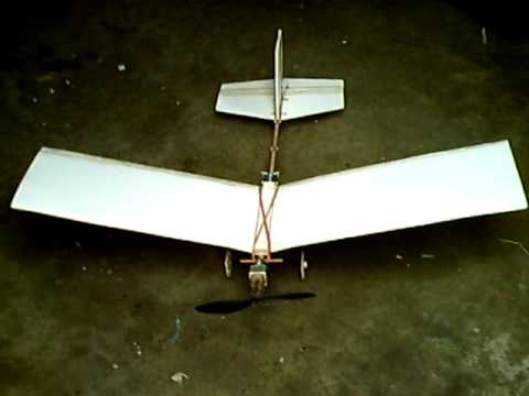 How to Build a Great Homemade rc Ultra Lite Slow Flyer airplane step by step DIY tutorial instructions